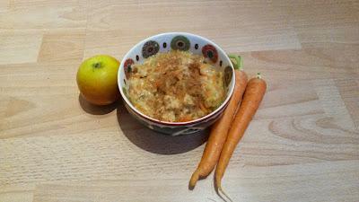 Karotte-Apfel-Porridge