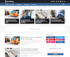 TechMag - Professional Blogger Template   Premium Version Free Download