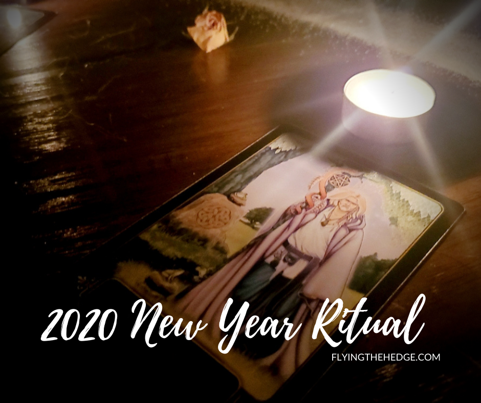 ritual, witchcraft, new year, tarot, spell, hedgewitch