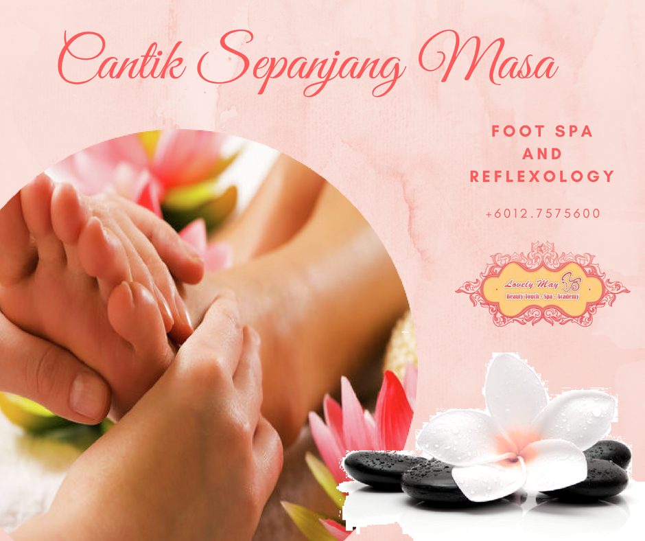 FOOT SPA AND REFLEX @RM68