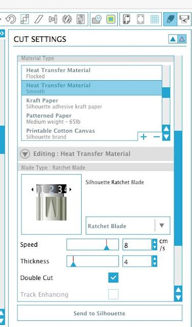 Cutting small HTV, HTV, heat transfer vinyl, Silhouette tutorial, Silhouette Studio
