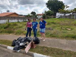 Operação Higeia realiza trabalho de limpeza em Sete Barras