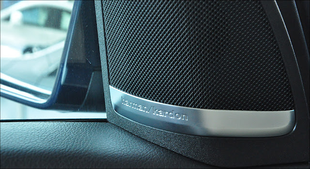 Mercedes GLE 400 4MATIC Exclusive 2019 sử dụng Hệ thống âm thanh Harman Kardon Logic 7 14 loa