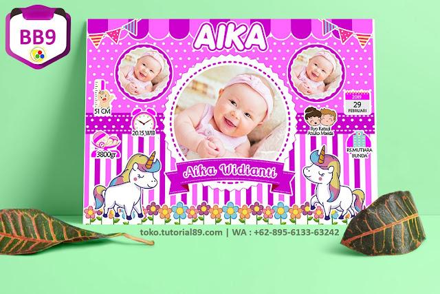 Biodata Bayi Costume Baby Girl Kode BB9 | Kuda Poni
