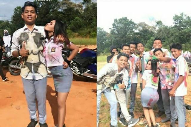 Viral, Foto Aksi Perayaan Kelulusan Tak Terpuji SMA Riau Berujung Minta Maaf