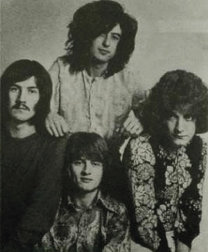 Photo of the band in Hammer of the Gods: The Led Zeppelin Saga Download PDF