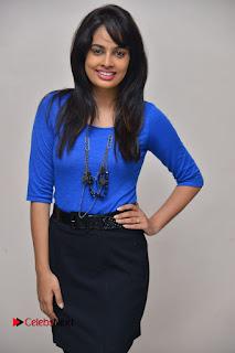 Actress Nandita Swetha Stills in Black Mini Skirt at Ekkadiki Potavu Chinnavada Movie Special Show  0026.JPG