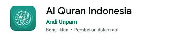 aplikasi alquran indonesia