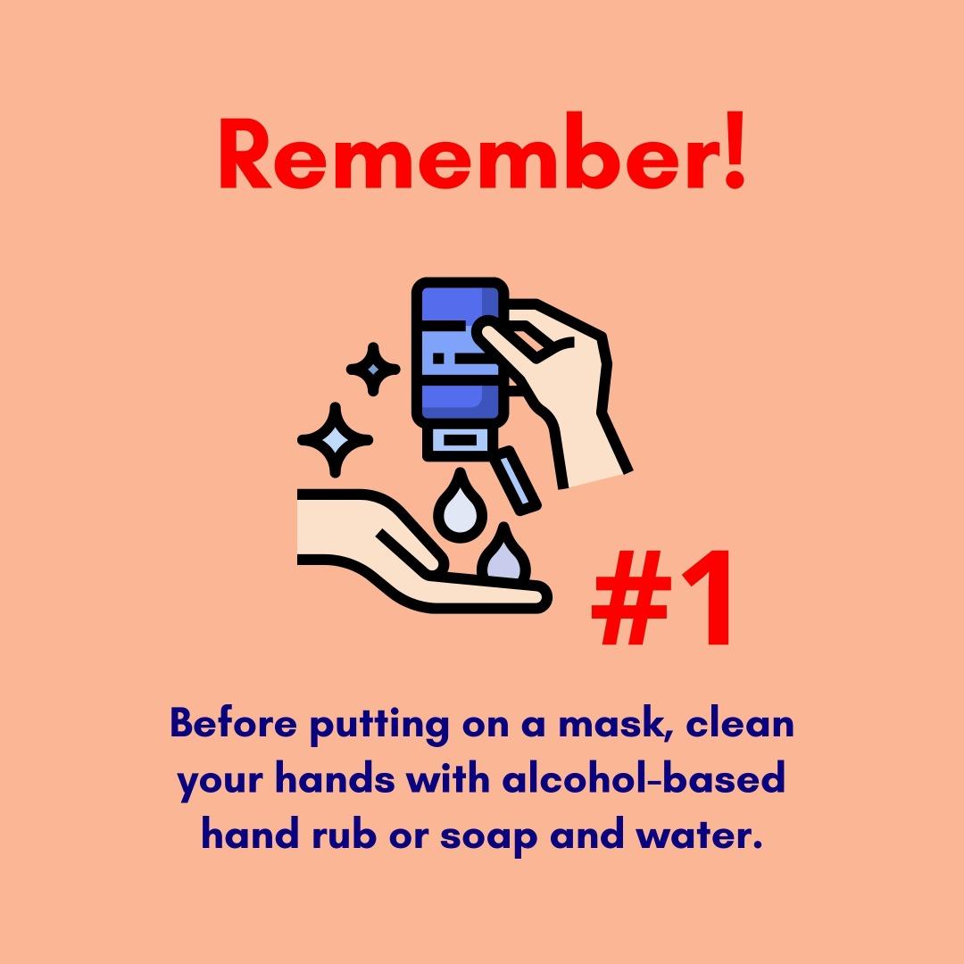 Cara Pemakaian Mask Yang Betul
