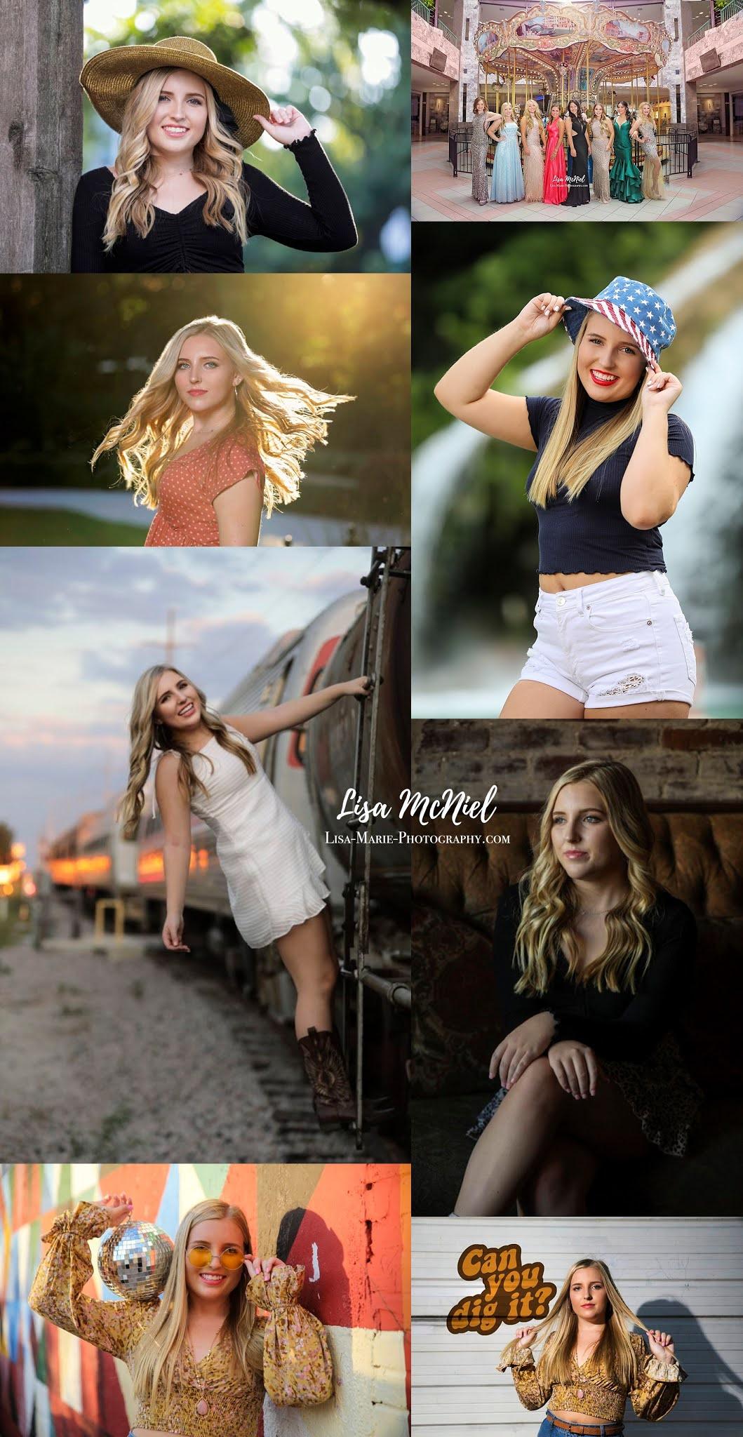 Teen girl portraits variety