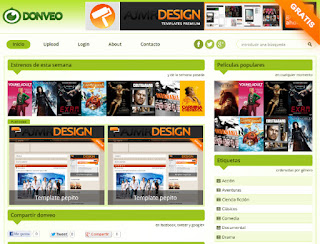Donveo Blogger Template