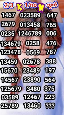 Thai Lottery Tips 001 Final 3up Facebook Timeline 01 December 2019