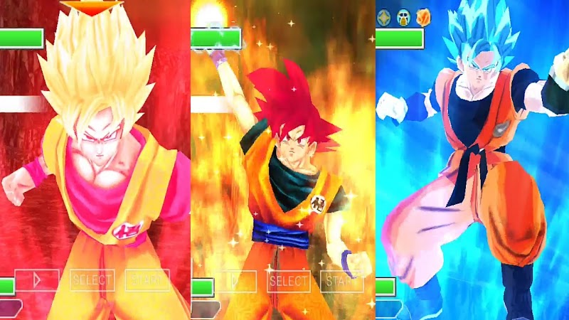 Android Game Dragon Ball Z BT3 Tenkaichi Tag Team Mod PSP ISO Download
