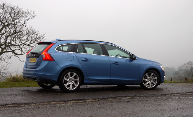 Volvo V60 D4 side view