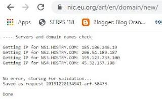 permintaan domain eu.org