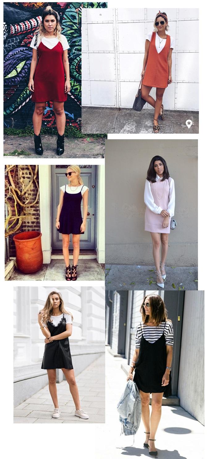 sobreposição de roupas