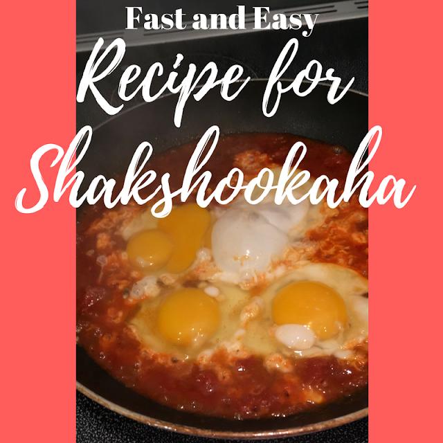 Shakshookah gluten free and Passover recipe
