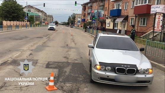 У Рівненській області п'яний водій збив на пішоходному переході 11-річну дівчинку, дитина у важкому стані