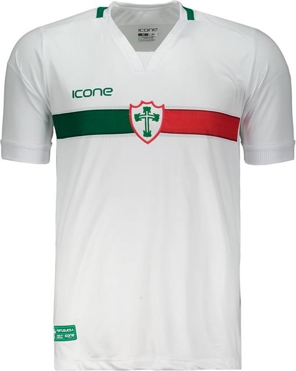 4c46ef195 Ícone Sports divulga as novas camisas da Portuguesa. A fabricante de material  esportivo ...