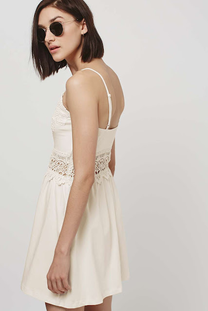 cream insert sun dress,