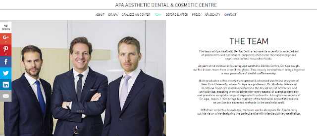 trusted aesthetic and cosmetic dental clinic in Dubai