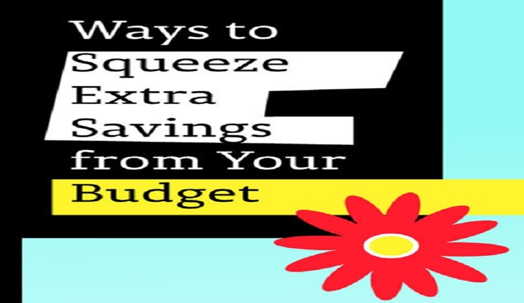 Ways to Squeeze Extra Savings from Your Budget #infographic