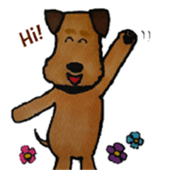 Pippi the Airedale Terrier-English ver.-