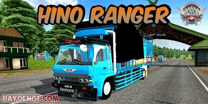 mod bussid truck hino ranger
