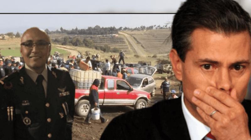 Niegan amparo a general y Ex-Escolta de Peña Nieto acusado de ser Huachicolero
