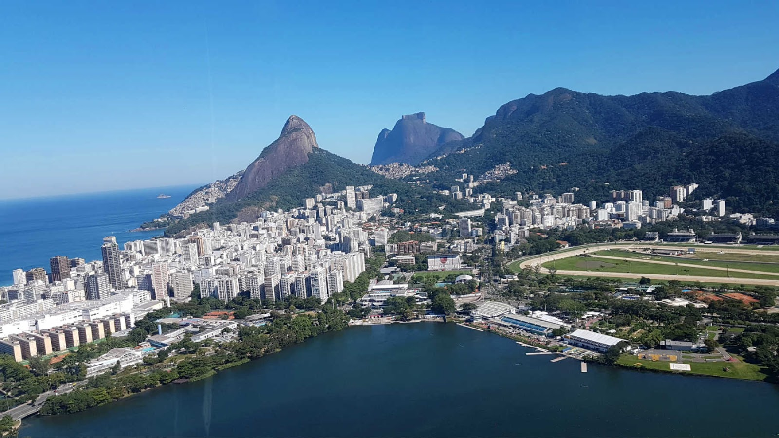 Rio de Janeiro visto do helicóptero da Helisight.