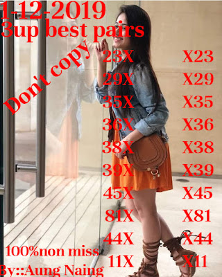 Thai Lottery Best 3up Tip Setlist Facebook TImeline 01 December 2019