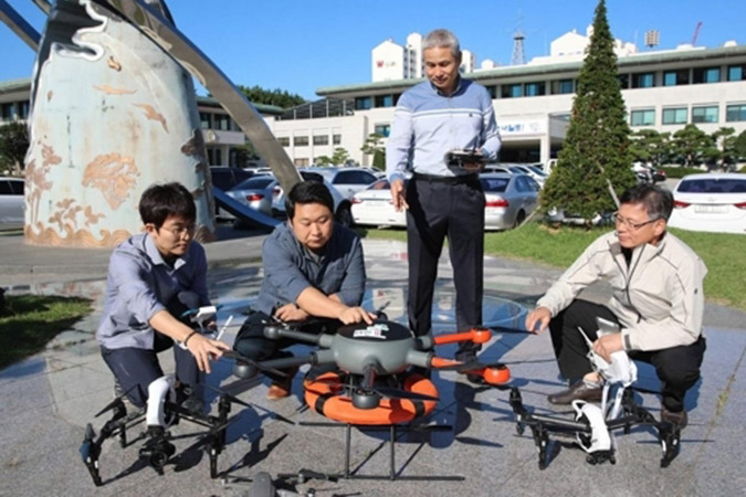 Penelitian South Korea to use drones to monitor illegal fishing