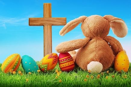 The Egg, The Bunny, and The Cross