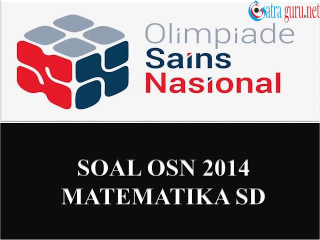 Soal OSN Matematika SD Tahun 2014