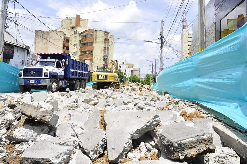 hoyennoticia.com, Reabren vías en el centro histórico de Valledupar