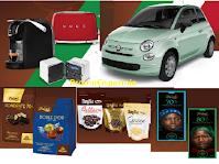 """Concorso Zàini """"Il gusto della tradizione italiana"""" : vinci prodotti Bialetti, Smeg, Brionvega e 1 Fiat 500 Hybrid Pop"""