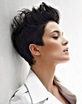 aqu las mejores imgenes de nuevos cortes de pelo corto asimtrico como fuente de inspiracin