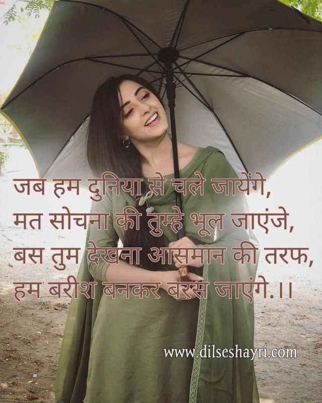 Love Shayari | जब हम दुनिया से चले जायेंगे | Hindi Shayari
