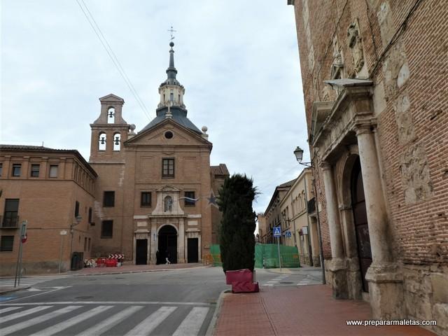 conventos y colegios mayores Alcalá de Henares