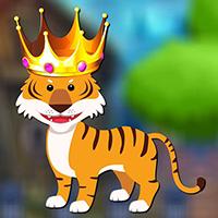 AvmGames - Forest King Tiger Rescue