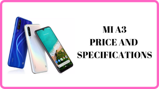 Xiaomi Mi A3 Smartphone Flash Sale