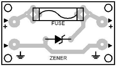 Parts Placement Layout Overvoltage Crowbar #1