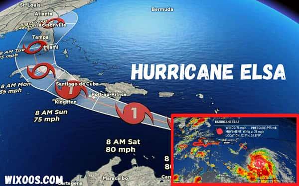 Hurricane Elsa: Tropical storm heading towards Martinique