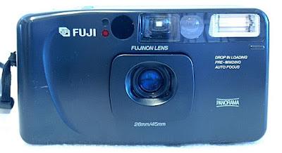 Fuji Cardia Travel Mini Dual-P, Front