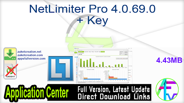 NetLimiter Pro 4.0.69.0 + Key