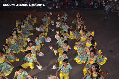 Aldeias Altas festeja o seu Santo Padroeiro com uma grande festa