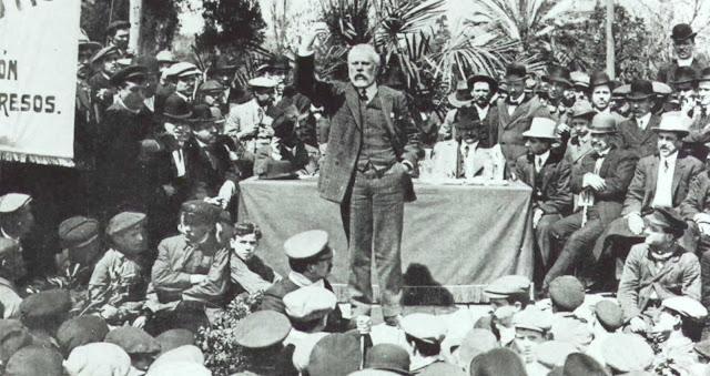 130 Aniversario de UGT, Enseñanza UGT Ceuta, Pablo Iglesias Posse, UGT