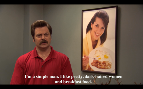 ron swanson slash it