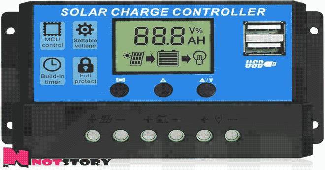 منظم الشحن-الطاقة الشمسية للمنازل