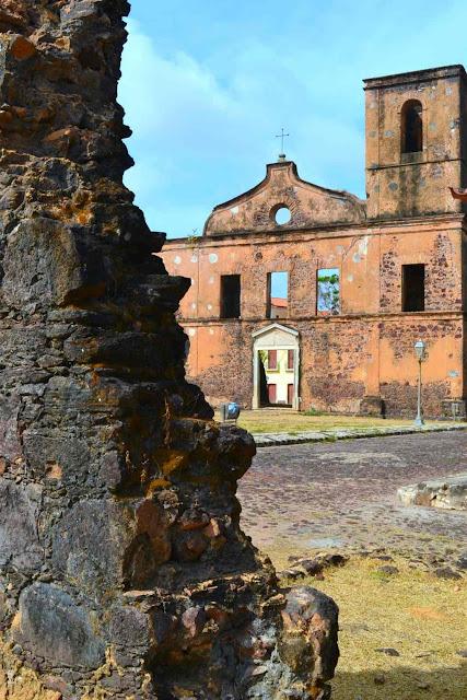 Brésil, Alcantara, Sao luis, village, coloniale, église, bateau